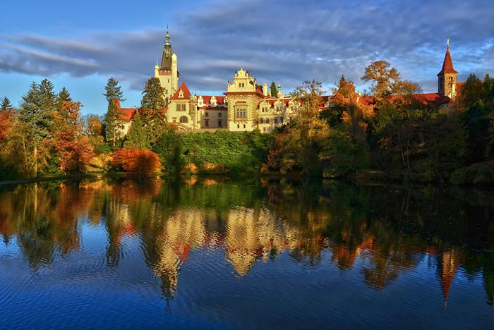 UNESCO  Zámek a park Průhonice